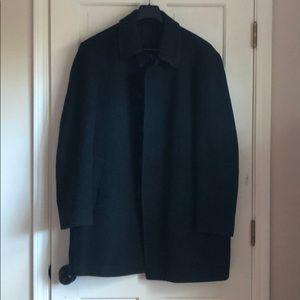 Lauren Ralph Lauren Gray 3/4 Men's Overcoat